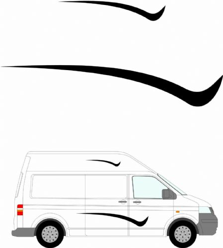 (No.247) MOTORHOME GRAPHICS STICKERS DECALS CAMPER VAN CARAVAN UNIVERSAL FITTING